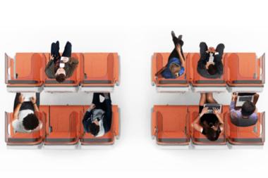 Otra opción que tendrían las aerolíneas para separar a los pasajeros