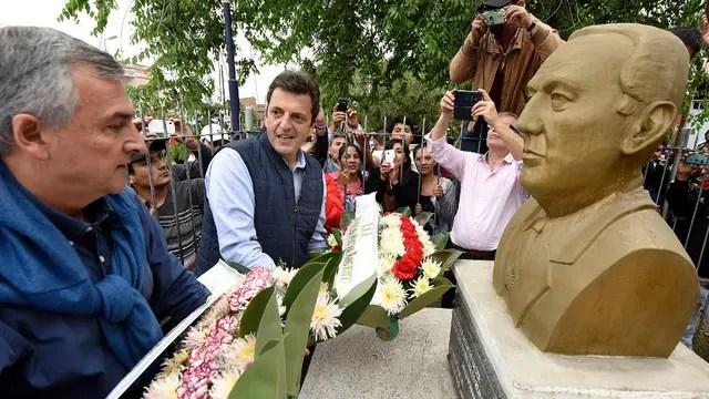 Con Morales, Massa evocó en Jujuy el abrazo Perón-Balbín