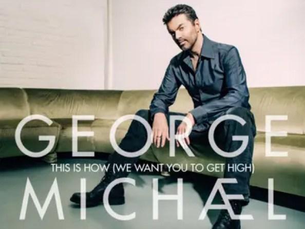 El arte de tapa del single póstumo de George Michael