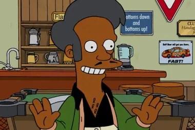 Apu es el personaje de la exitosa serie que representó durante mucho tiempo a un Indio inmigrante en los Estados Unidos