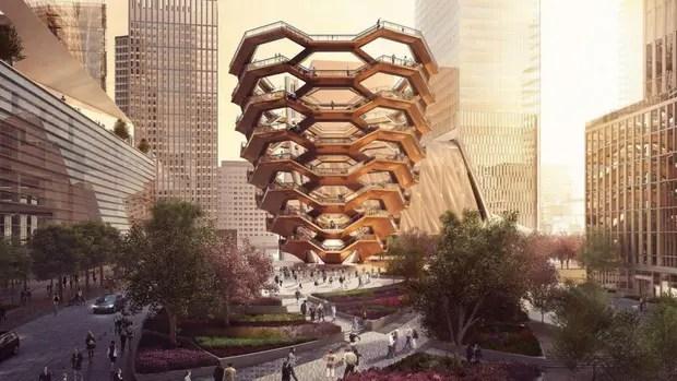 The Vessel: los nuevos 2500 escalones de Manhattan