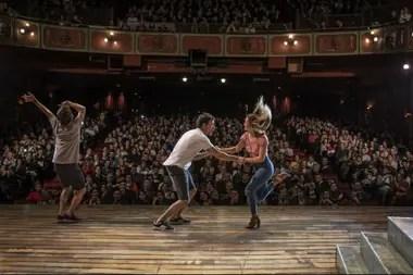 Nico, Flor y Benja festejan junto al público el regreso de Una Semana Nada Más