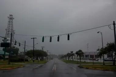 Los semáforos están sin servicio eléctrico en Morgan.
