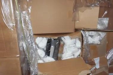 El cargamento de la droga fue valuado en 1,2 millones de dólares