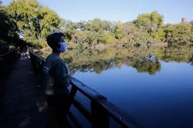 Florencia Gavirati, coordinadora de la reserva ecológica de Vicente López