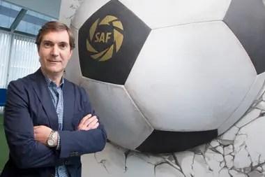 Mariano Elizondo, titular de la Superliga