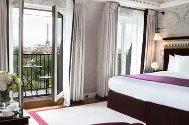 La familia Macri se hospeda en el exclusivo hotel parisino La Réserve, que solo tiene 26 suites