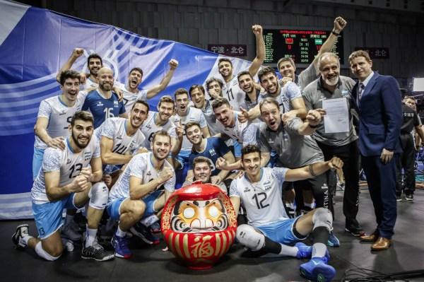 Tokio 2020: el vóleibol argentino tiene grupo definido para los Juegos Olímpicos