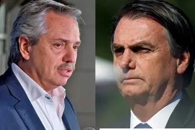Alberto Fernández y Jair Bolsonaro; para General Motors, Brasil es destino de más del 90% de sus exportaciones