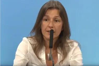 La ministra de Seguridad, Sabina Frederic, difundió un informe en el que apunta al exfuncionario y a autoridades de la Gendarmería