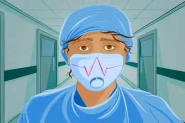 La doctora Robert señala que no pueden garantizar los cuidados de salud adecuados a una persona enferma de coronavirus