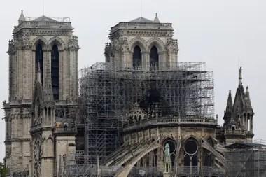 Así se veía hoy la catedral