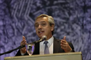 El candidato del Frente de Todos visitó Córdoba por quinta vez