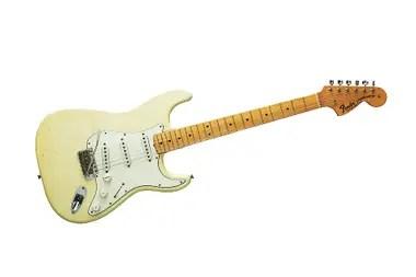 La Fender Stratocaster que Hendrix usó en Woodstock en 1968