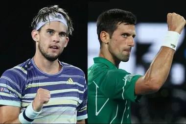 Thiem, que este año cayó en la final de Australia con Djokovic, se distanció de la