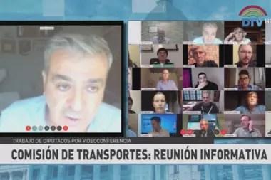 El diputado José Cano encabeza la sesión virtual de la Comisión de Transporte