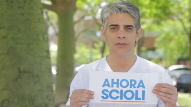 Pablo Echarri, en un spot de varios actores y referentes del espectáculo en apoyo a Scioli