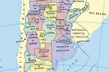 Mapas de la Argentina para descargar de forma gratuita