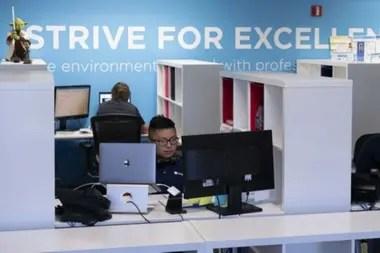 La empresa de software Coupa está ubicada en Silicon Valley