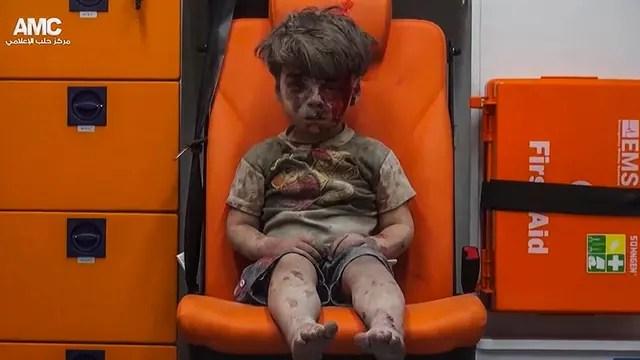 Omran, el niño sirio que fue símbolo de la guerra