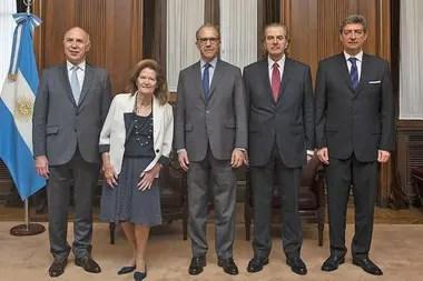 Los jueces de la Corte Suprema de Justicia de la Nación