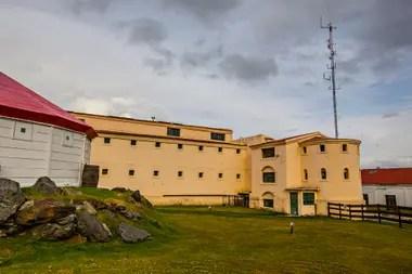 La vieja cárcel y museo naval de Tierra del Fuego