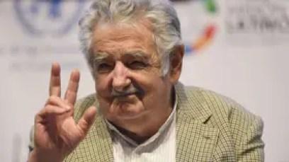 """El ex presidente de Uruguay, """"Pepe"""" Mujica"""