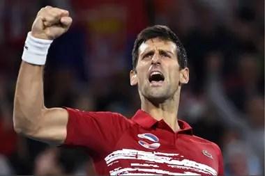 Djokovic, brillante en la final de la ATP Cup