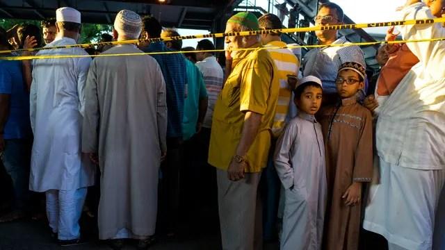 La comunidad musulmana, contra Trump
