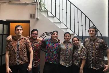 Además de Francisco y Fermín, el equipo aporta sus ideas gastronómicas