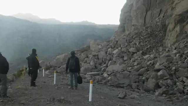 Un terremoto sacudió el sur de Perú. Foto: Twitter