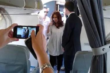 Cristina Kirchner viajó a El Calafate y prevé volver después del fin de semana largo