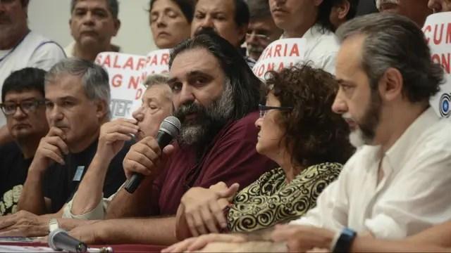 Gremios docentes convocaron a un paro nacional de 48 horas para el 6 de marzo