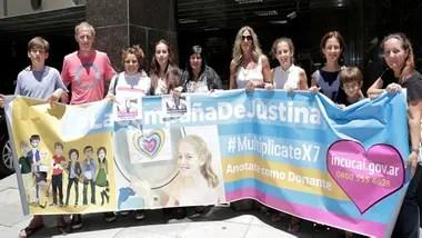 La campaña de Justina elevó sustancialmente la cantidad de donantes en el Incucai