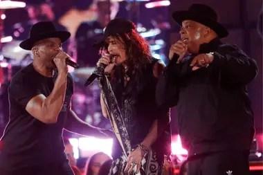 Aerosmith fue uno de los grupos homenajeados a lo lardo de la ceremonia