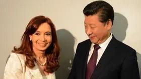 Cristina Kirchner firmó importantes acuerdos comerciales con China