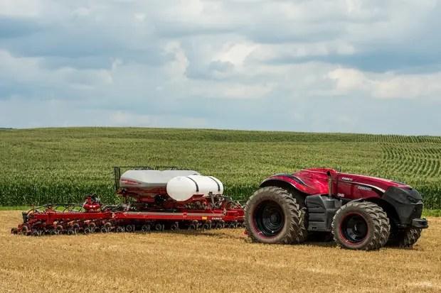 El tractor que se puede operar de manera remota