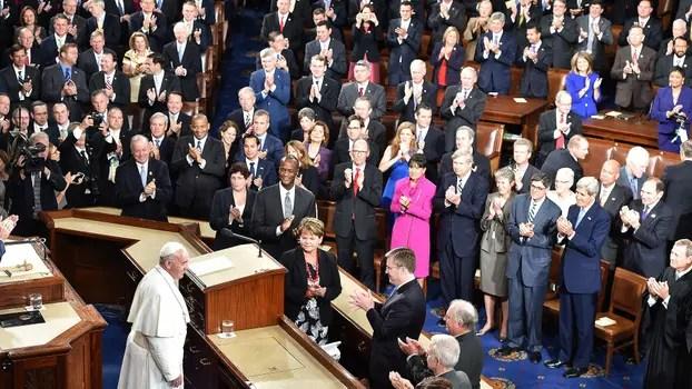 Las mejores imágenes del histórico discurso de Papa en el Capitolio. Foto: AFP