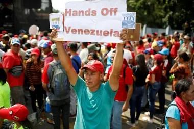 Hoy además habrá una marcha a favor de Nicolás Maduro