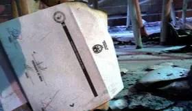 Una de las urnas atacadas durante las elecciones de Tucumán