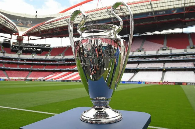 La final de la Champions League 2019/2020. El estadio Da Luz de ...