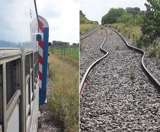El incidente que no dejó heridos ocurrió en el kilómetro 88 del ramal Moreno Mercedes del tren Sarmiento