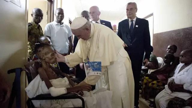 El papa Francisco en África