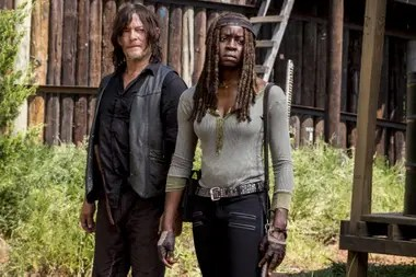 "Norman Reedus, que interpreta a Daryl Dixon en la serie, pidió conservar la cabeza del ""Johnny Depp zombie"""