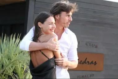 Pampita sostuvo que no hubo ninguna discusión con su marido, Roberto García Moritán
