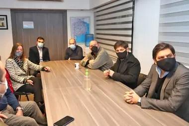 La reunión de ayer en la que Frederic y Berni tuvieron otro tenso cruce