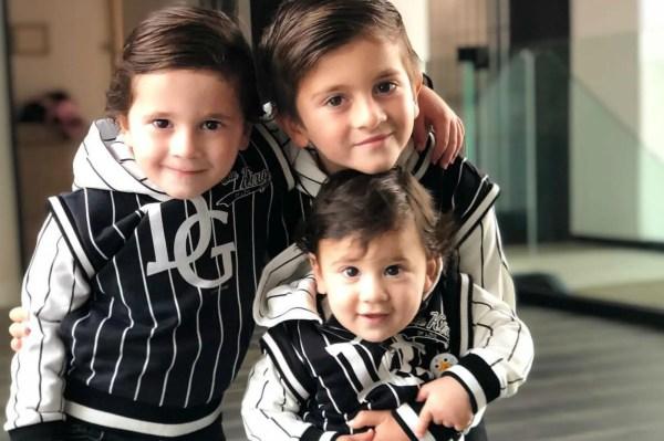 """Antonela Roccuzzo se tatuó en honor a sus tres hijos: """"Siempre conmigo """""""