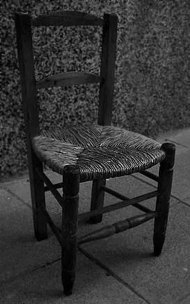 Resultado de imagen para silla en la vereda