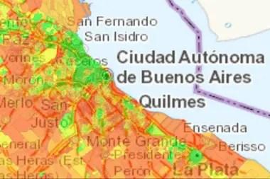 Los contrastes en la región de la ciudad de Buenos Aires son notables