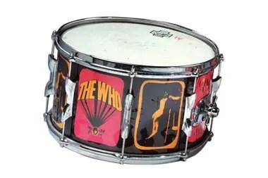 Un tambor que Keith Moon ayudó a diseñar